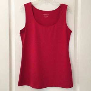 Red Charter Club Tank Top